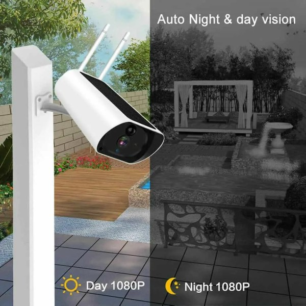 day and night Solar powered 4G camera