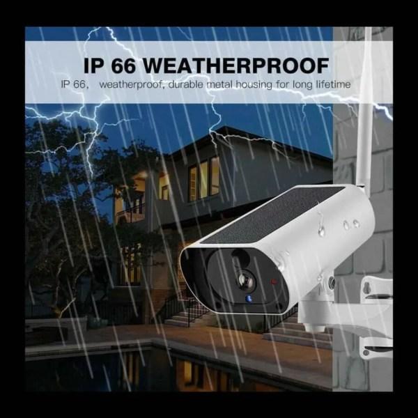 rain proof exterior cctv