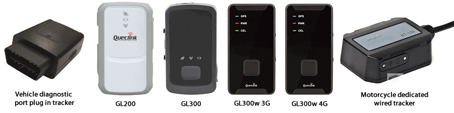 Supported gps tracking products