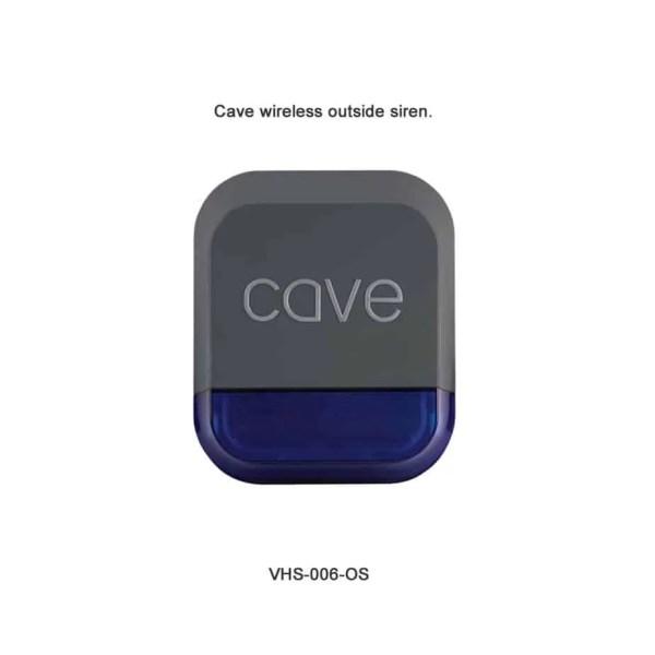 Cave wireless outside siren