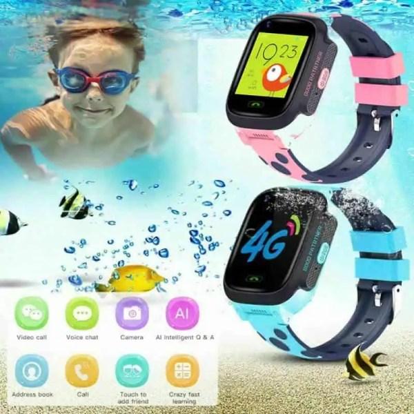 Waterproof Guardian child safe tracking watch