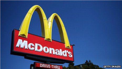 McDonald's has been widening its range to include healthier food options