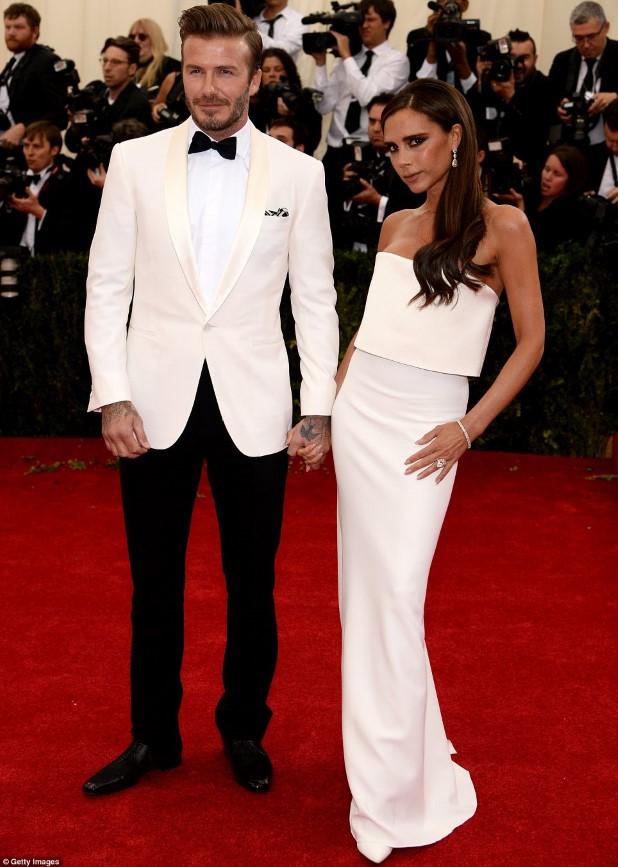 David Beckham and Posh