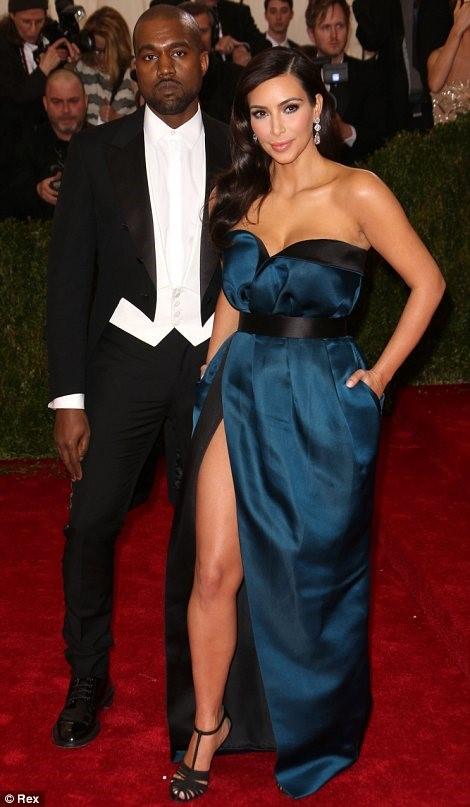 Kanye and Kim K