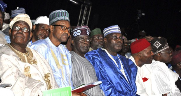 APC NATIONAL LEADERS - AKANDE, BUHARI, ATIKU, ONU, TINUBU ETC