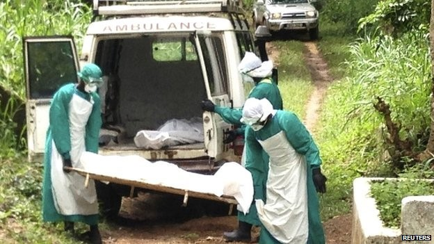 A WHO statement said that Sierra Leone accounted for 14 deaths and 34 of the 50 new cases