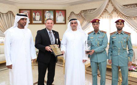 Saif bin Zayed Receives Community Police Award from IACP