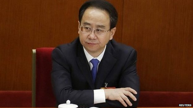 Ling Jihua was accused of trying to cover up a scandal involving his son