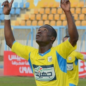 Ghanaian striker Antwi has left the Egyptian league for Saudi side Al Shabab