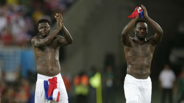 Muntari and Essien heading for the Milan exit