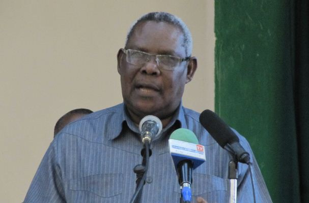 Zanzibar?s Second Vice president Ambassador Seif Ali Iddi