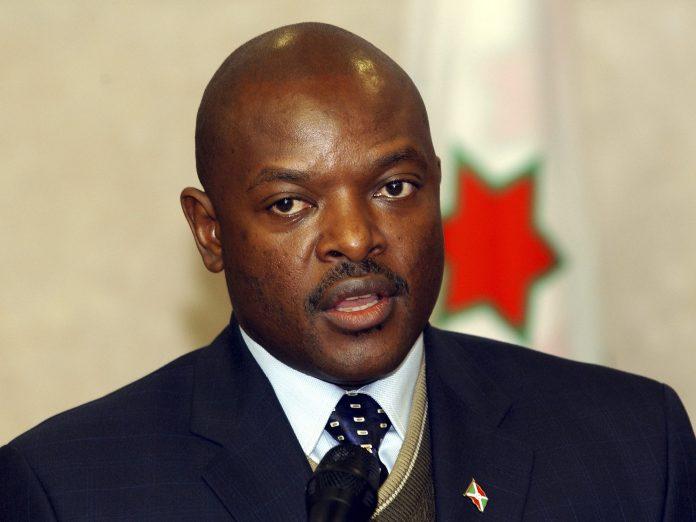 Burundian President Pierre Nkurunziza