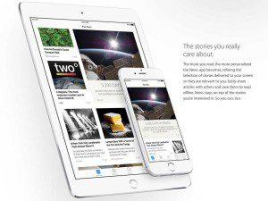 Apple's News app.