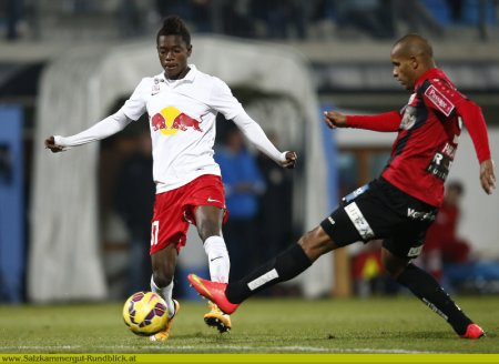 David Atanga in action for Red Bull Salzburg