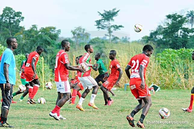 Samuel Inkoom is not impressed with the current Kotoko team