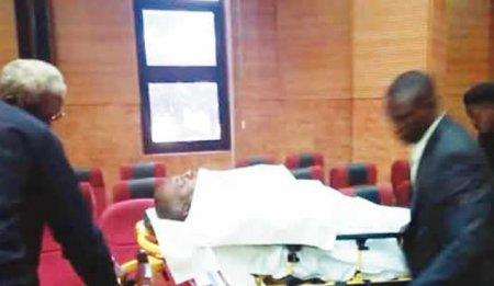 JUST IN: Metuh collapses in court