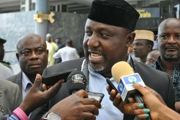 Okorocha's party rejects Buhari, adopts Atiku as presidential candidate