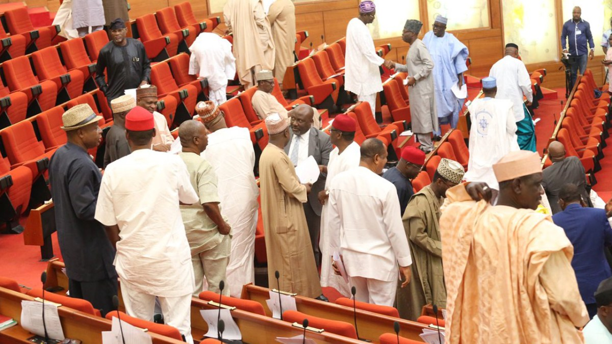 Uproar in Senate as Buhari excludes South-South, South-East from EFCC board