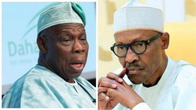 We shall meet at Jonathan's book launch - Obasanjo tells Buhari