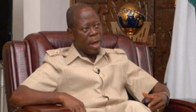How APC Governor Insulted Oshiomhole Before Buhari - Vanguard Reveals