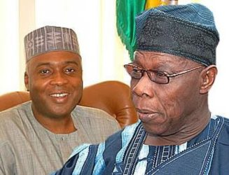 Bukola Saraki Issues Short Surprising Statement, After 2-Hours Closed-Door Meeting With Olusegun Obasanjo