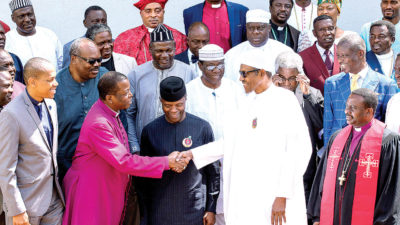 "EXPOSED: Buhari's #40Million ""Transportation Money"" Tears Christian Leaders Apart, ..Popular Pastors Battle Each Other!"
