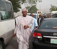 BREAKING: Saraki in closed-door meeting with Obasanjo