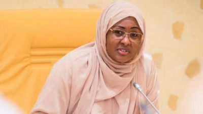 BREAKING: Aisha Buhari attacks APC, tells Nigerians to vote wisely