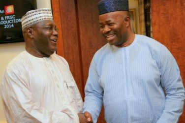 SHOCKER: Akpabio 'Dumps' APC ..Backs Atiku For Presidency, Eyes VP Slot –Source