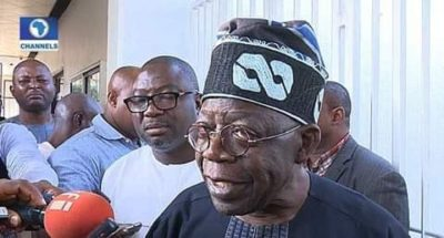 Just In: Trucks Loaded With Money Reportedly Seen Entering Tinubu's House(Photos)