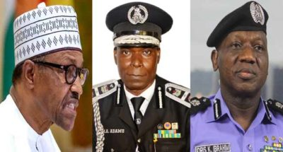 Momodu to IGP Idris: After the gra gra to please Buhari, your end has come, goodbye