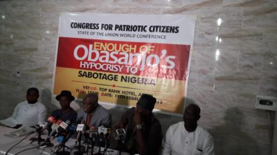 BREAKING: Obasanjo, PDP in alliance to kill Nigeria - Former Senate President, Ebute cries out