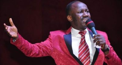 BUHARI Vs ATIKU: A man who'll steal your money better than one who'll take your life –Apostle Suleman