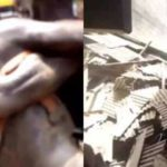 BREAKING: Many people trapped as another building collapses at Oke Arin, Lagos Island