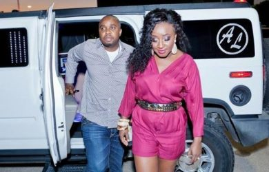 Ini Edo Embarrasses Ex Husband Philip Ehiagwina at Florence Ita-Giwa's Birthday Party