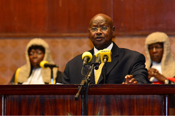 Museveni delivers State of the Nation Address 2017.