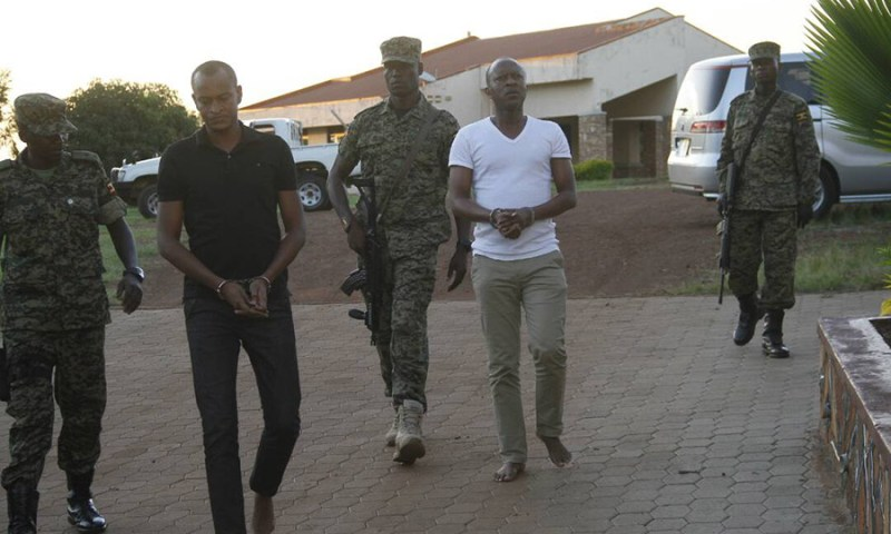 Army finally speaks out on Gashumba arrest: accuses him of being in possession of fake Stanbic, UPDF stamps, marijuana and cocaine!