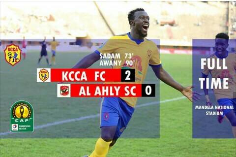 KCCA Humbles Egypt's Al- Ahly in CAF Champions League