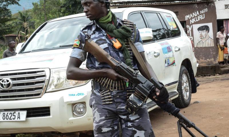 26  killed in Burundi terrorist attack.
