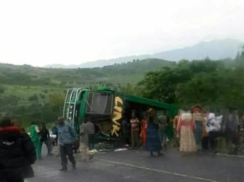 18 Seriously Injured In Kasese-Mbarara Link R'd Accident