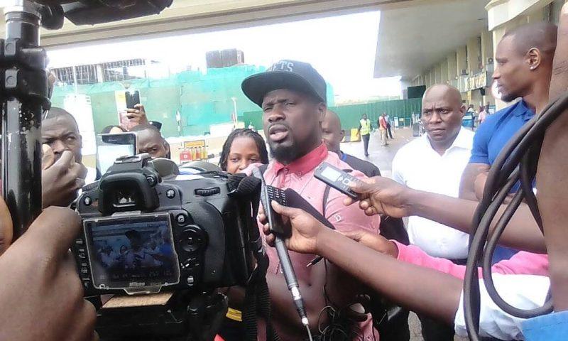 Ex- Arsenal Star Emmanuel Eboue, Stoke City Ibrahima In Uganda For World Cup Analysis