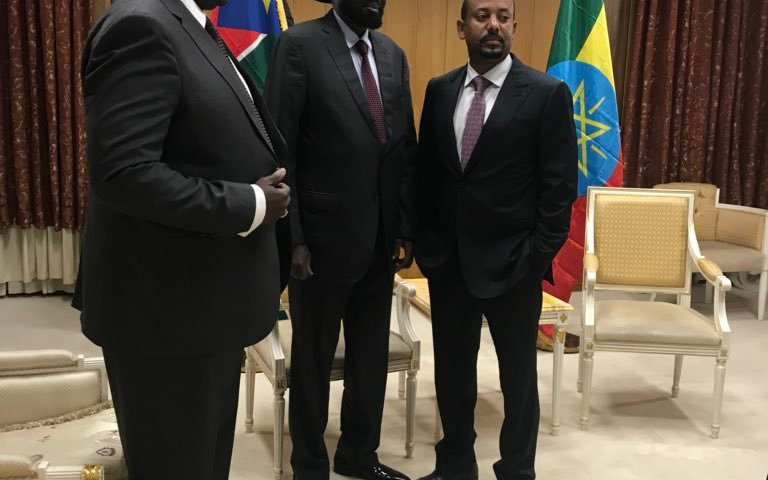 Regional Leaders Renew Riek,Kiir Peace Negotiations For Troubled S.Sudan