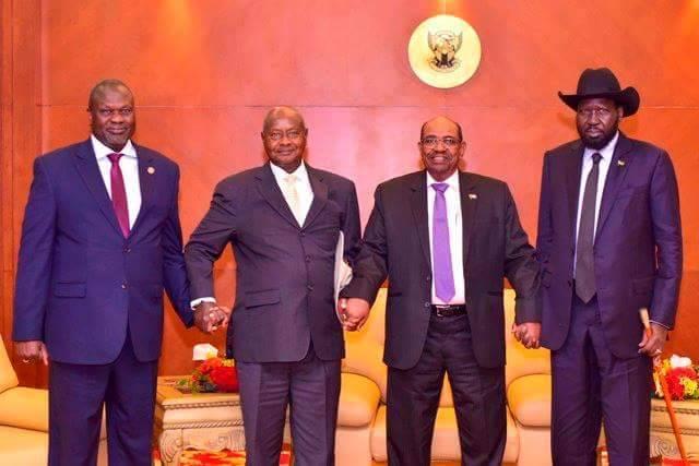S.Sudan Rebel Leader Riek Re-Instated As Kiir's Vice President!