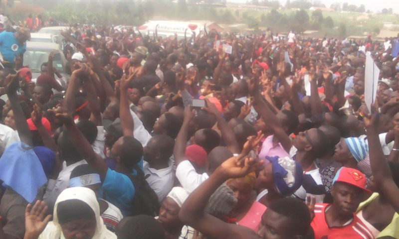 Sheema Voters Demonstrate Against Elioda Victory As Bukedde Reporter Is Assaulted