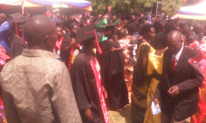 Taremwa College Students Demonstrate On Graduation Day, Administrator Arrested!