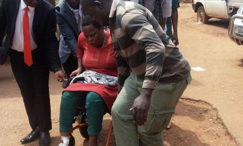 Nakawa Court Charges 'Dying' MP Nambooze on Ambulance for Inciting Public!