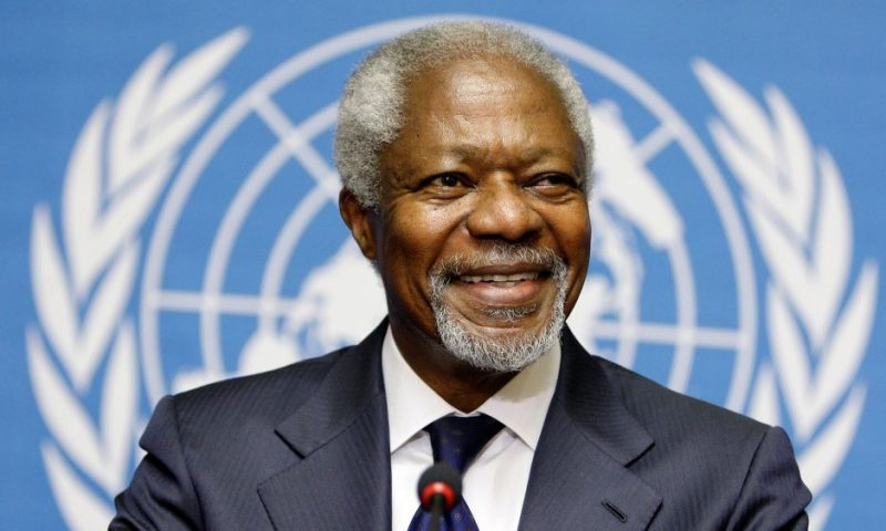 Breaking! Former UN Secretary-General Kofi Annan Dies At 80!
