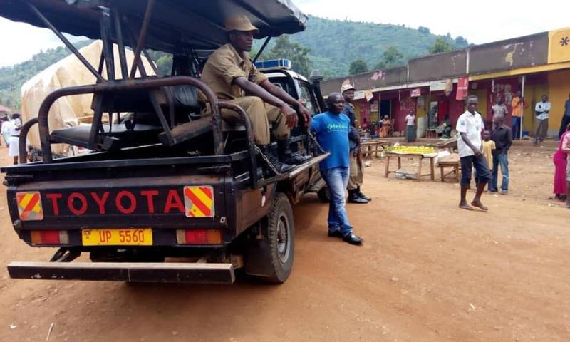 Police Block FDC From Delivering Relief Items To Bududa Landslide Victims