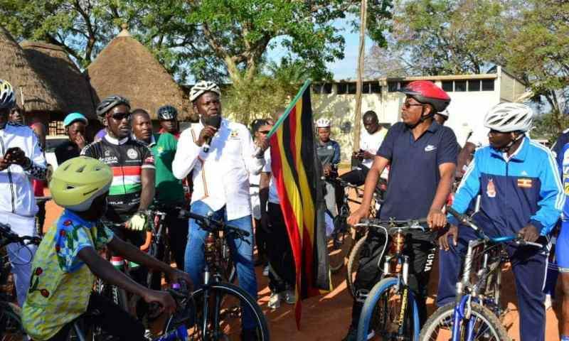 Minister Kiwanda,UPDF urge Ugandans to participate in physical Exercises