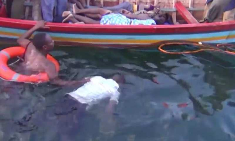 Breaking!13 Dead As Boat Carrying Over 120 Capsizes On Lake Victoria, Prince Wassaja, Namubiru Among Survivors!